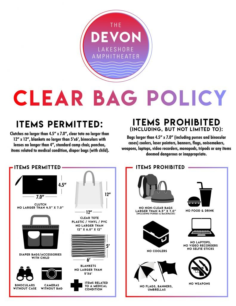 Clear Bag Policy Flyer